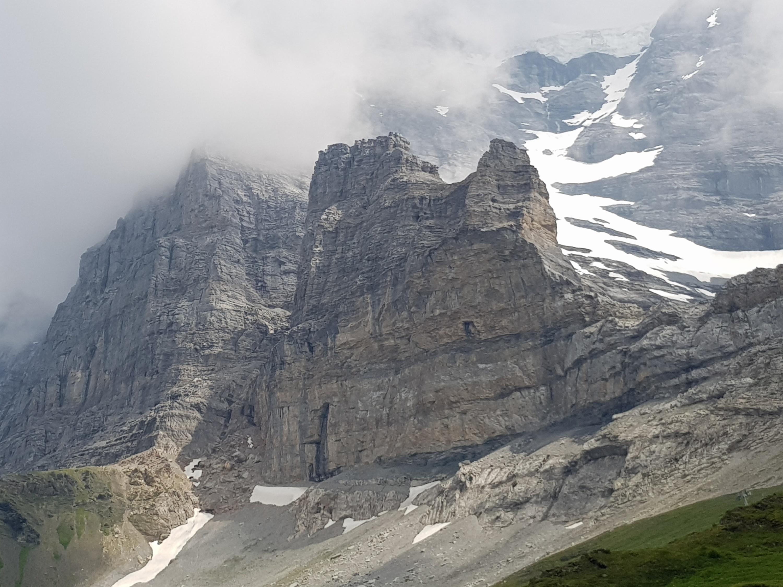 Klettersteig Grindelwald : Eigertrail mit rotstock klettersteig u sac sektion lindenberg